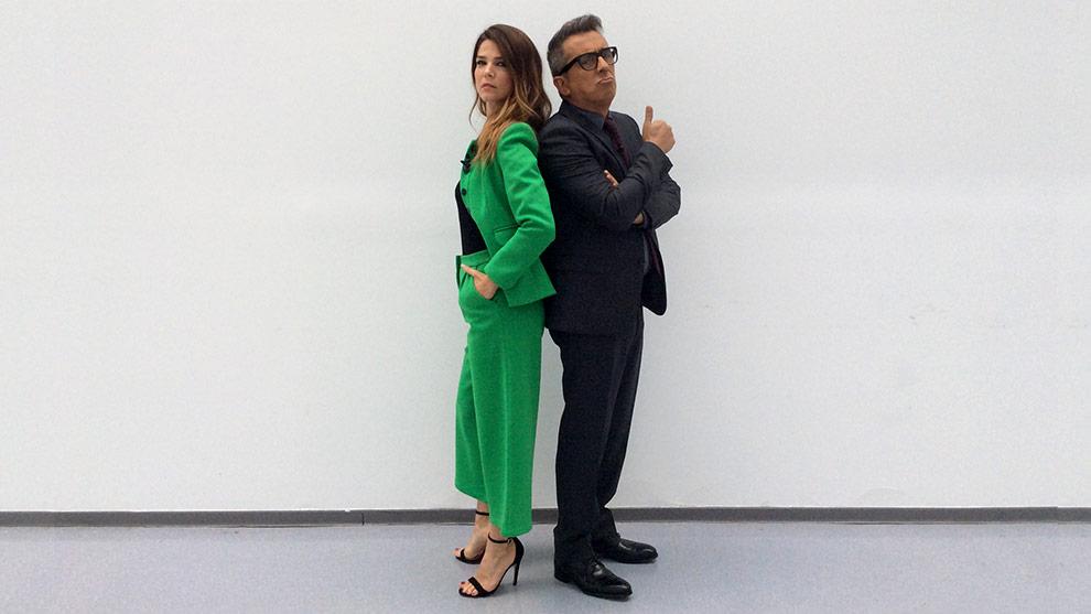 Juana Acosta y Andreu Buenafuente